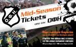 Mid-Season Ticket του ΟΦΗ και ΠΑΡΕ ΘΕΣΗ στο Γεντί Κουλέ για την άνοδο!