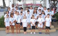 12 μετάλλια απο τα δελφινάκια του ΟΦΗ!